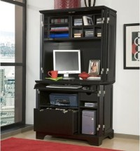 Bedford Compact Office Cabinet and Hutch - Modern - China ...