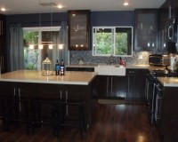 Home Decorating Pictures : Dark Wood Floors With White