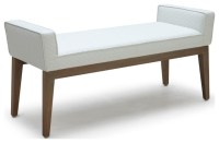 Chelsea Bench - Contemporary - Upholstered Benches - by Inmod