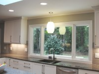 Large Window Over Sink - Contemporary - Kitchen - raleigh ...