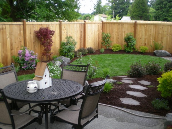 small backyards - traditional