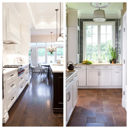 Wood Floors in the Kitchen?