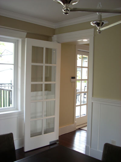Dining room waiter pivot door  Traditional  Interior Doors  vancouver  by Doorex