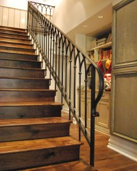 Stair Railing Designs: Wood vs Iron