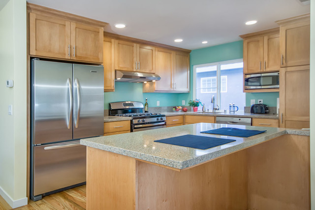 Teal Cabinets Kitchen Teal Kitchen - Traditional - Kitchen - San Francisco - By