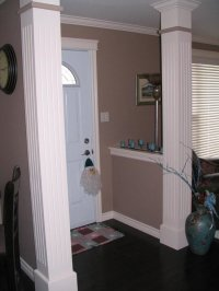 Knee Wall Entry Design Ideas, Pictures, Remodel and Decor