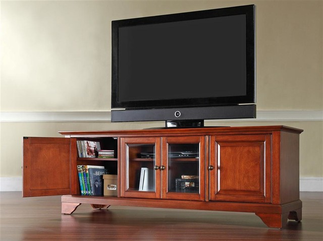 LaFayette 60 In. Wood Low Profile TV Stand W