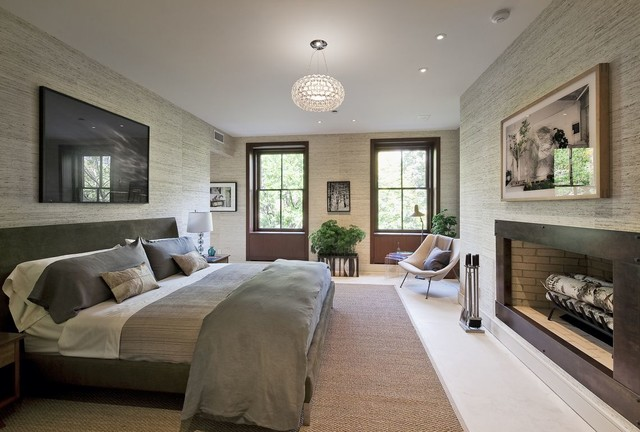 Gramercy Townhouse Modern Bedroom new york by
