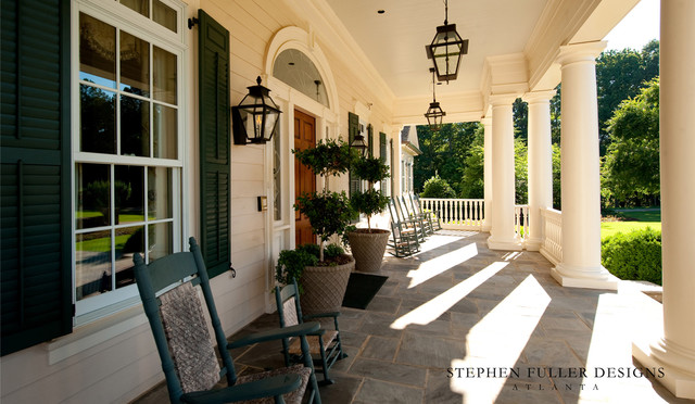 A Classic Southern Front Porch  Traditional  Porch