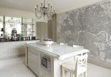 Kitchen Wallpaper Home Design Photos Houzz