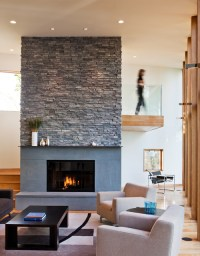 4 Hot Ideas for Fireplace Facing  Indoor City