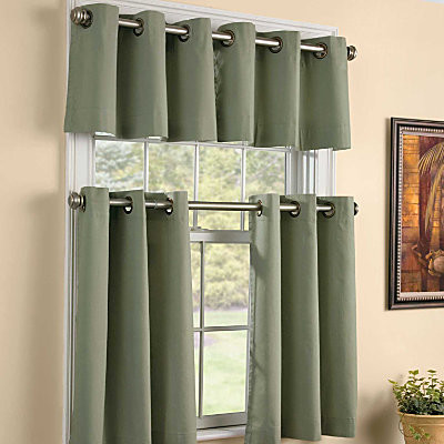 Grommet Kitchen Tiers45  Contemporary  Curtains  by