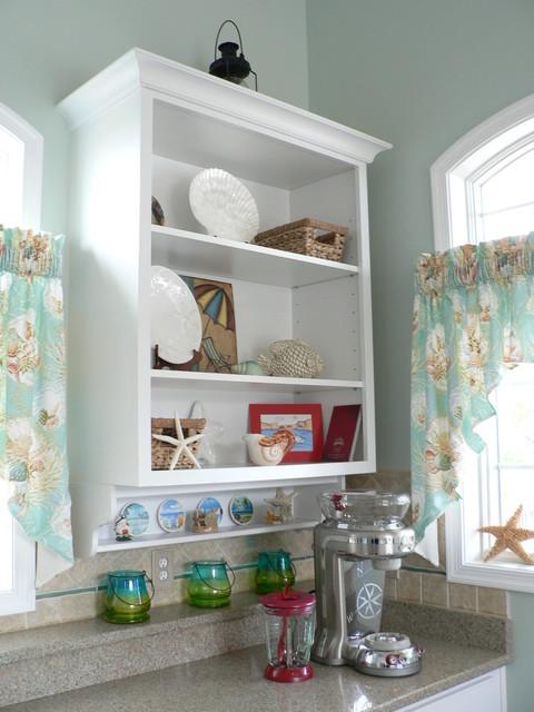 Pool House Kitchen  Tropical  Kitchen  richmond  by