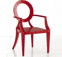 Updated Louis Chair, Red - Contemporary - Armchairs And ...