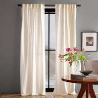 Luxe Window Panel - Modern - Curtains - by West Elm