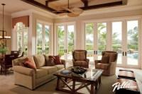 Pella Architect Series hinged patio doors accent ...