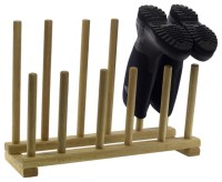 Oak Boot and Shoe Rack - Eclectic - Shoe Storage - by Pedlars
