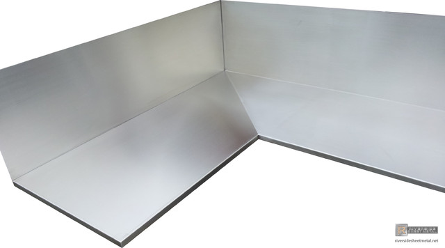 Stainless Steel Counter Top #4 Finish