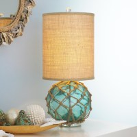 Modern Buoy Glass Table Lamp - Beach Style - Table Lamps ...