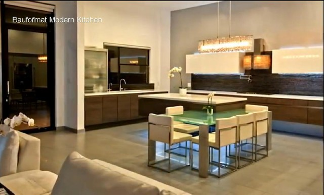 Luxury Modern House in Hollywood Hills  Contemporary  Kitchen  los angeles  by BAUFORMAT