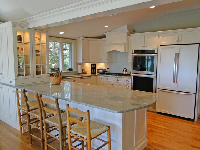 kitchen trash compactor low cost remodel cape cod - traditional boston by ...