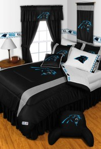 NFL Carolina Panthers Bedding and Room Decorations ...