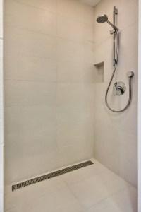 Rectangular shower drain - Midcentury - Bathroom - san ...