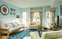 A basement redo - Eclectic - Living Room - dc metro - by ...