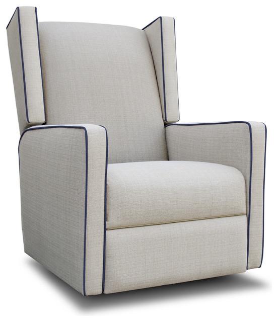 photos wing glider recliner modern rocking chairs