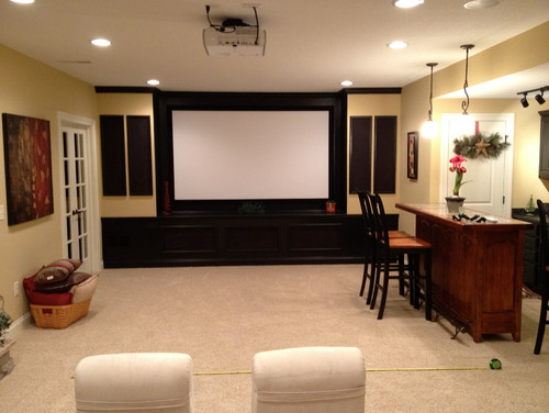 Help! basement/media room furniture layout