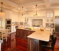 Kitcen Coffered Ceiling Remodel - Kitchen - charleston ...