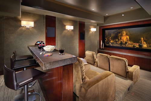bean bag sofa india lit a vendre saguenay home theater seating layout: 5 key design and placement ...
