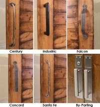 Barn Door Pull w/ Optional Barn Door Locks - Modern ...