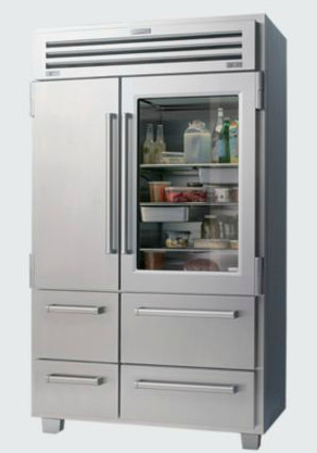 PRO 48 with Glass Door  Modern  Refrigerators  by Sub