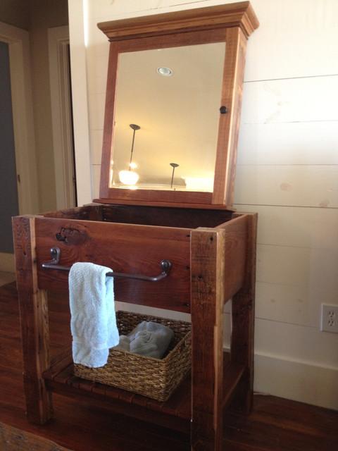 Rustic Vanities and Bathroom Accessories  Farmhouse