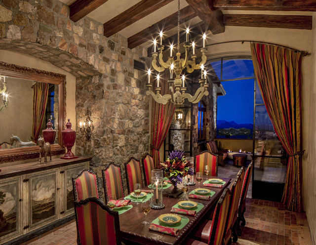 Arizona Tuscan Southwestern Dining Room Phoenix By