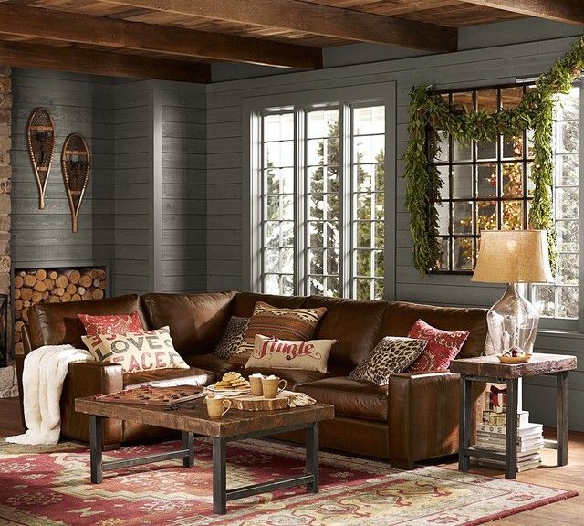 leather sofa like pottery barn beautiful