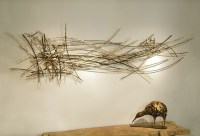Silas Seandel Twigs #16 Wall Sculpture - Eclectic - Wall ...