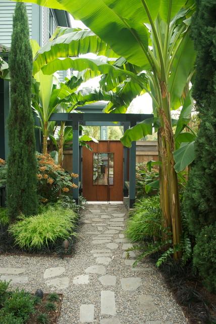 lilyvilla display garden - contemporary