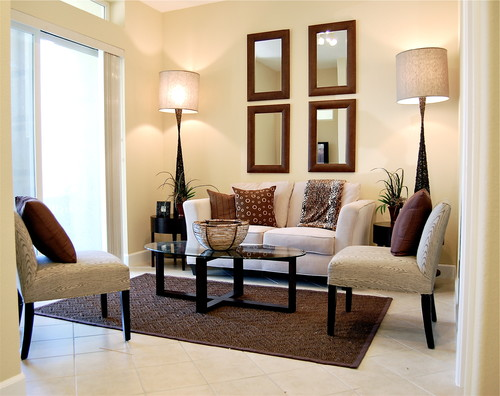 Inspirations In Decorating The Living Room With Mirrors Part 47