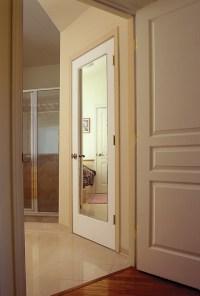 Mirror Impression Door - Modern - Interior Doors - orange ...