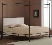 Lauren King Metal Canopy Bed - Contemporary - Canopy Beds ...