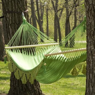 Luxurious look and feel Relax in a luxurious hammock that adds character and atm mediterranean hammocks