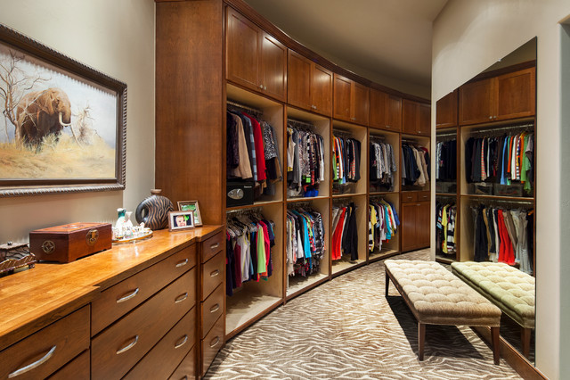 Hill Country Custom Home  Traditional  Closet  austin