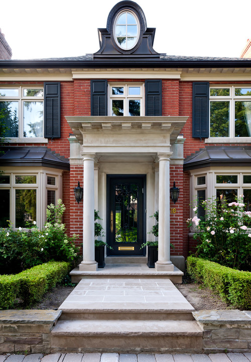Traditional Entry By Toronto Design Build Firms Capital Construction And  Project Management