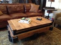 Rustically Modern Coffee Table, Bar Cart, Pub Table ( 3 in
