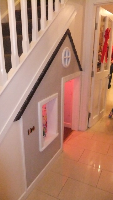 Understair Playhouse  Traditional  Kids  other metro  by Carpen3ie