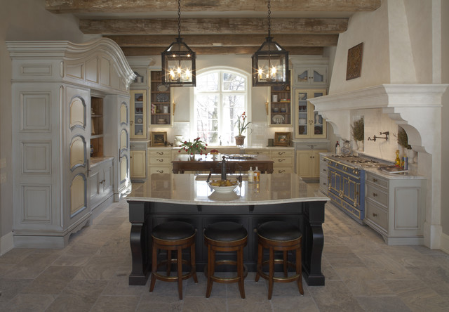 French Finese Kitchen Rustic Kitchen Minneapolis By Hendel Homes