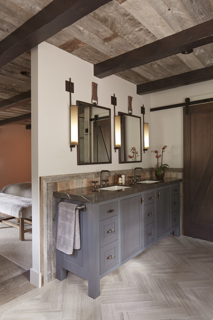 Tahoe Modern  Rustic  Bathroom  san francisco  by