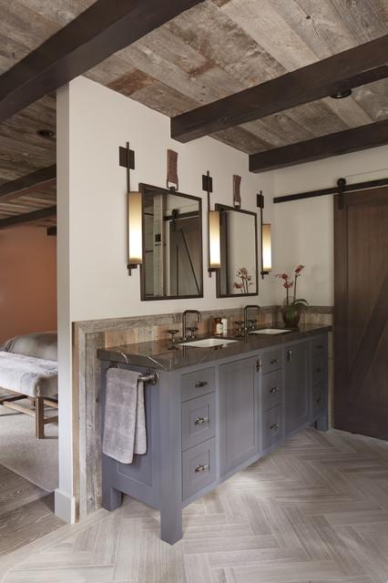 Tahoe Modern - Rustic - Bathroom - san francisco - by ...